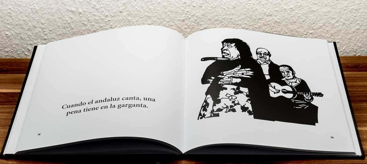 Das Buch »Europäische Sprichwörter« mit Scherenschnitten von Ralf Bednar