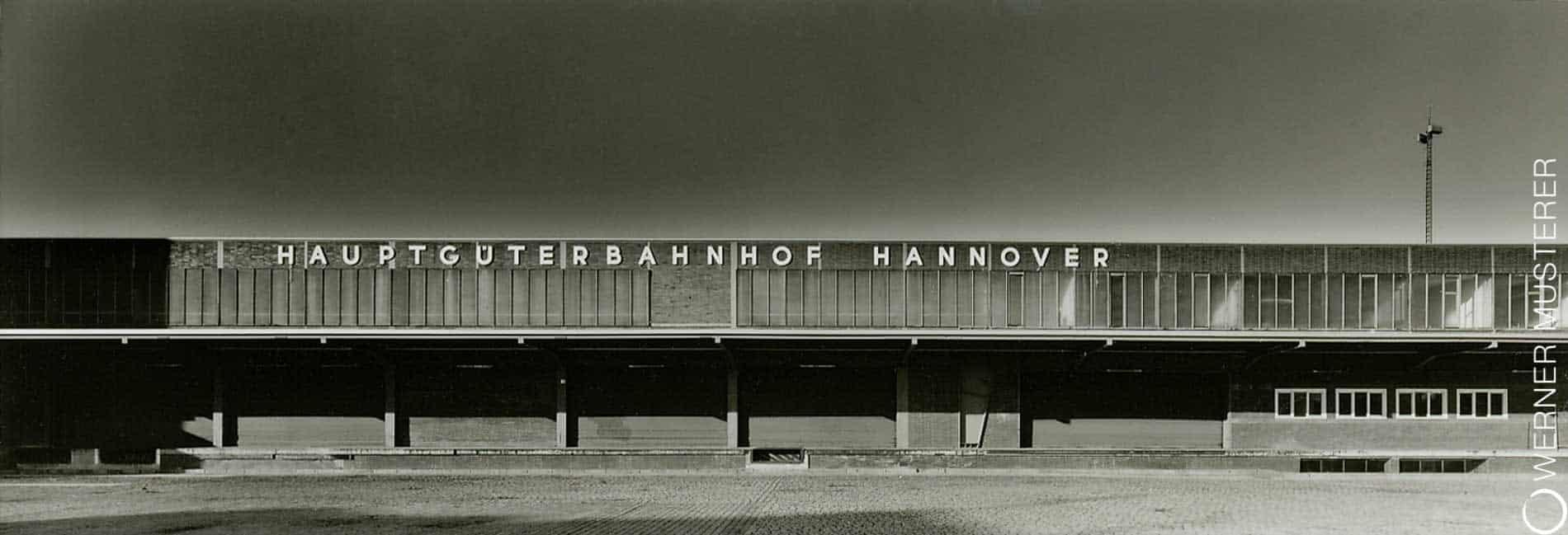Stillgelegter Hauptgüterbahnhof am Weidendamm Hannover.