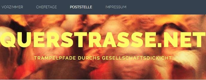 Werner bloggt bei Querstrasse.net