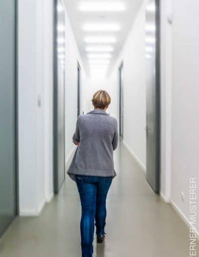 Der Weg zum Arbeitsplatz