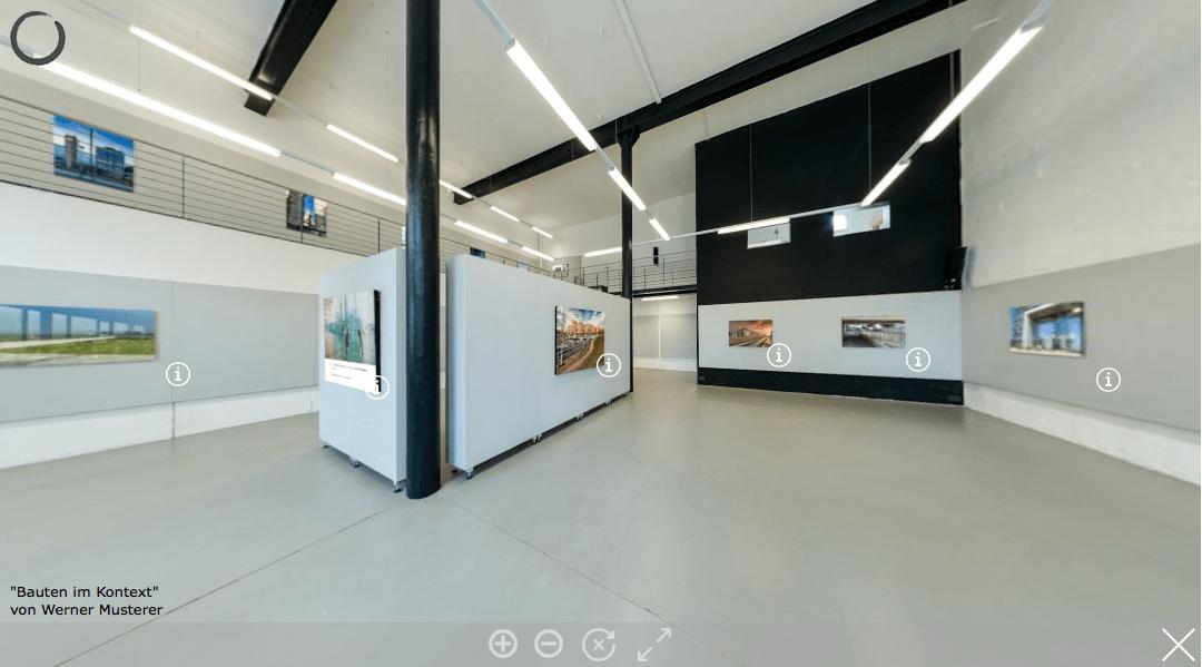 360-Grad-Ausstellung